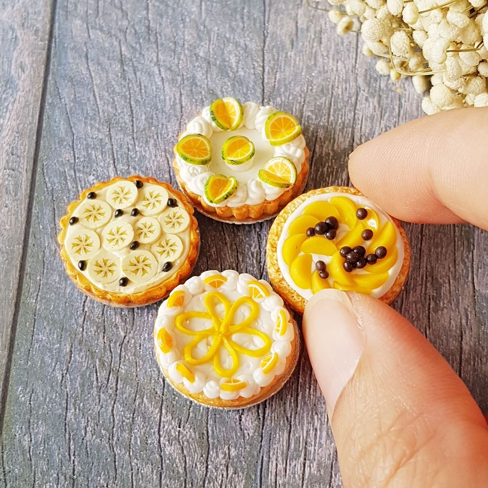 Dollhouse Cookie Miniature Food Dessert//Snacks Fit for 1//12 Dollhouse A
