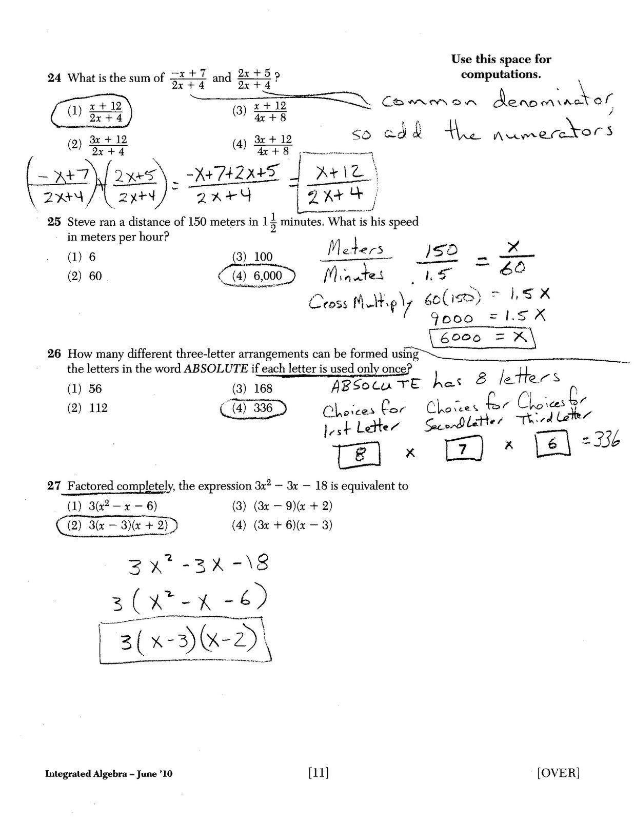 Holt Mcdougal Algebra 1 Worksheet Answers Pics