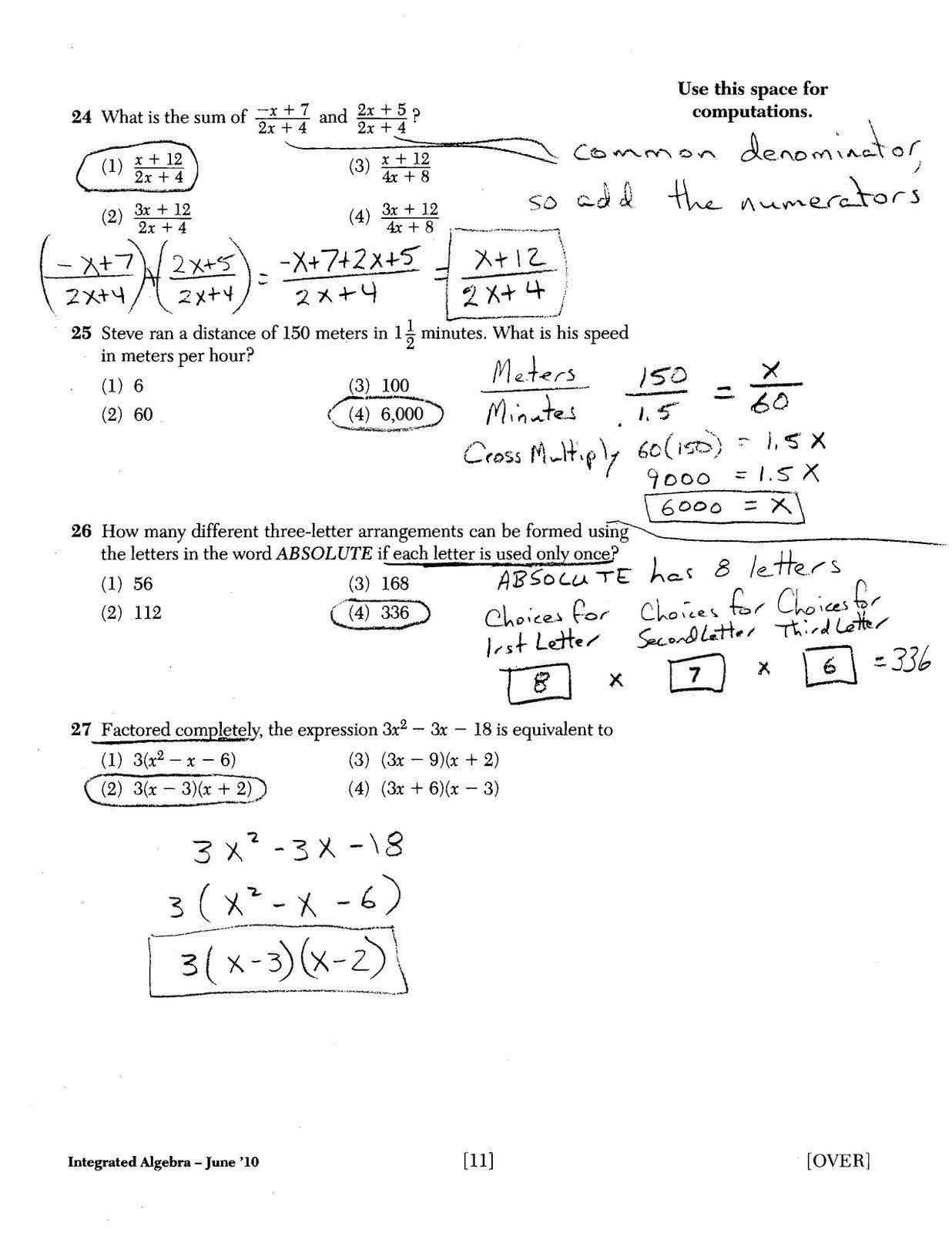 Holt Mcdougal Algebra 1 Worksheet Answers Pics