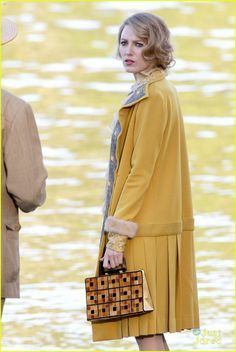 Image result for age of adaline yellow coat