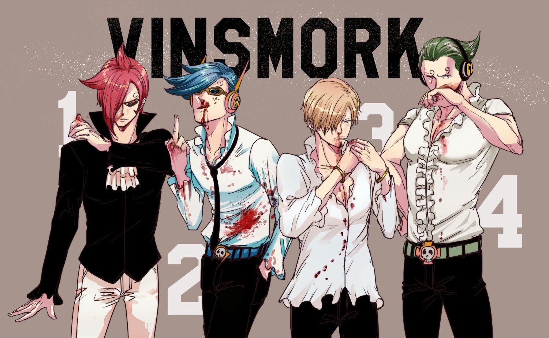 Sanji Vinsmoke Ichiji Vinsmoke Niiji Vinsmoke Yonji Vinsmoke Germa66  Vinsmoke Family One Piece