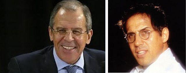 Russian Foreign Minister Sergei Lavrov Adriano Celentano