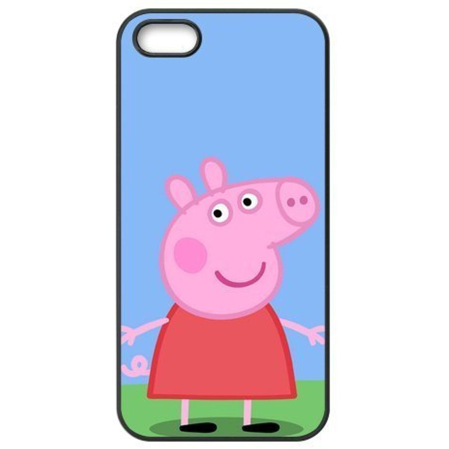 los angeles b3ea9 6881e Pink Ladoo® iPhone 5 5s Case Phone Cover Peppa Pig -- For more ...