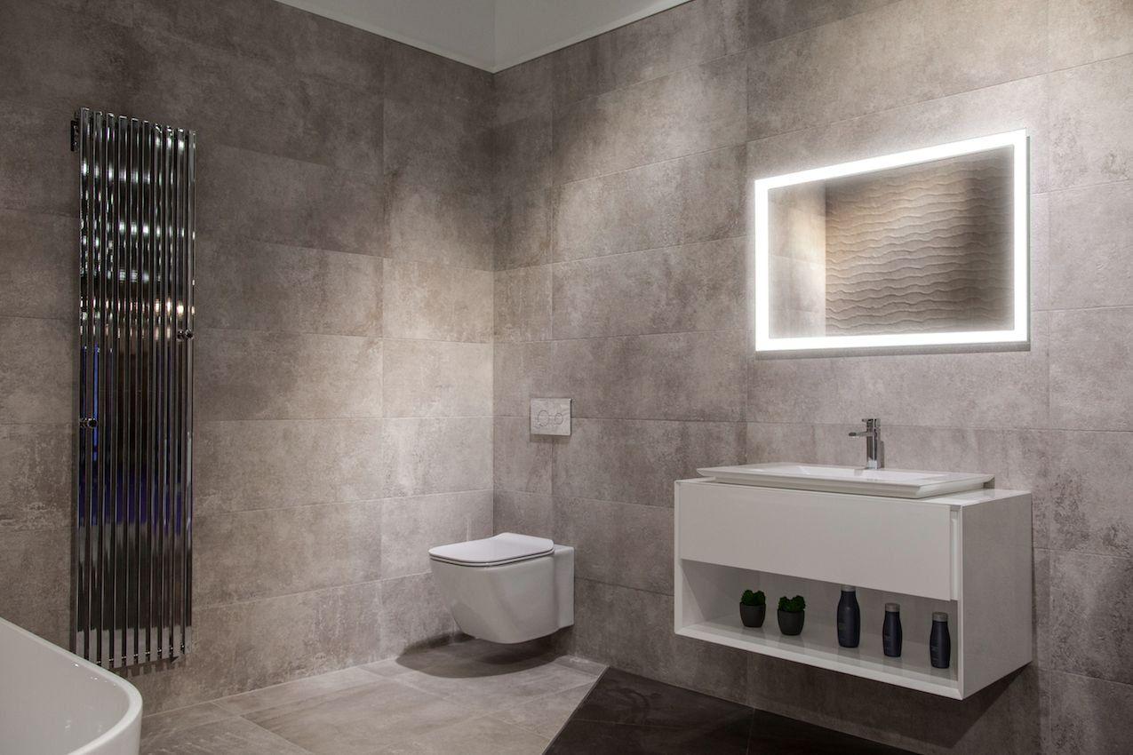 Fogless Led Illuminated Mirror Bathroom Ullisted Wall Mounted
