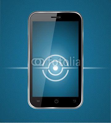 Vektor: smartphone direction