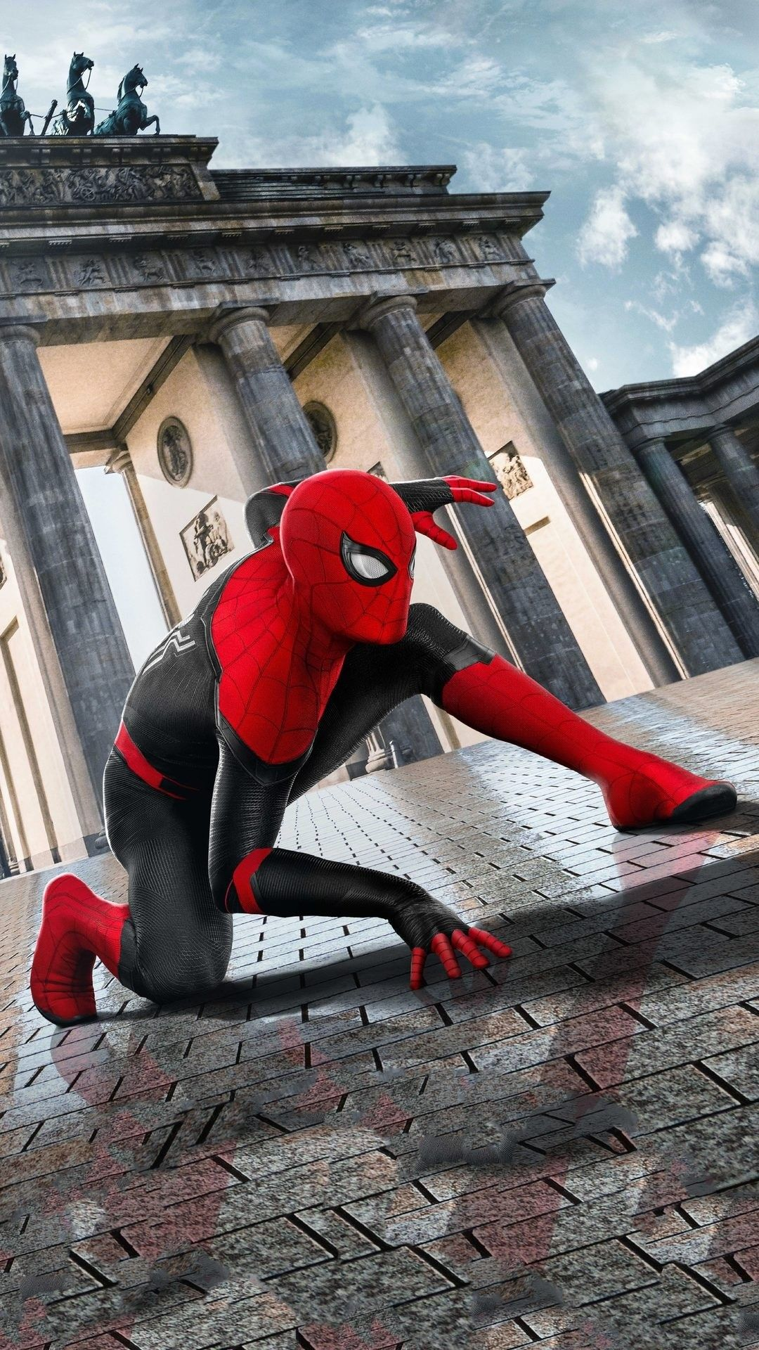 SpiderMan Far From home HD iPhone wallpaper Spiderman