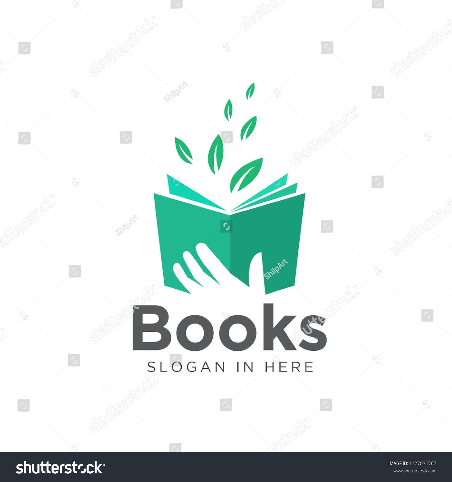 Hand Keep Book Read Source Green Leaf Book Logo Read Book Hand Source Book Logo Leaf Book Book Icons