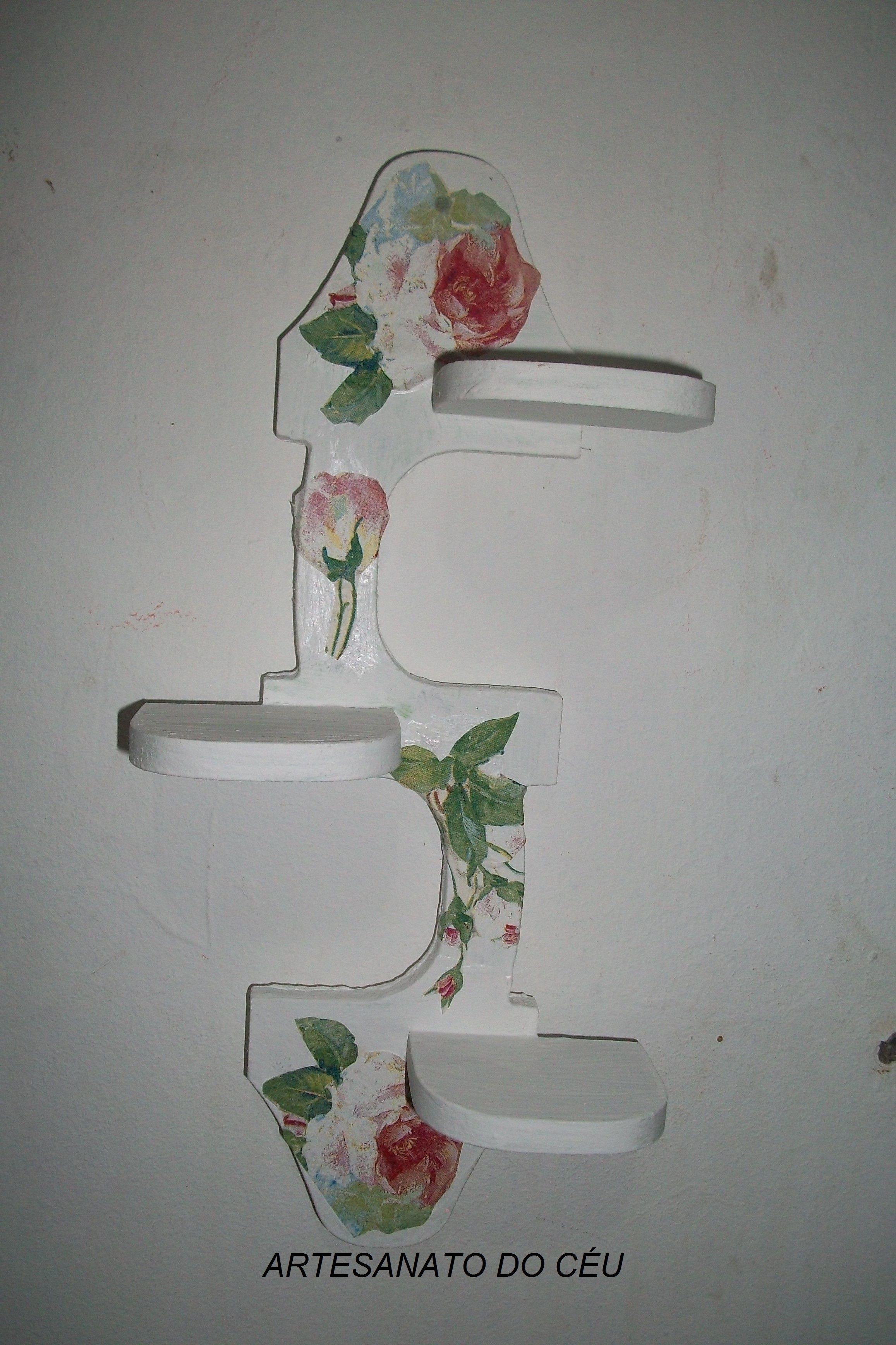 Tripé para Vasinhos Flores