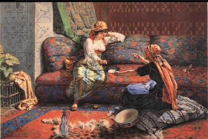 Alberto Pasini Art Oriental Art Painting
