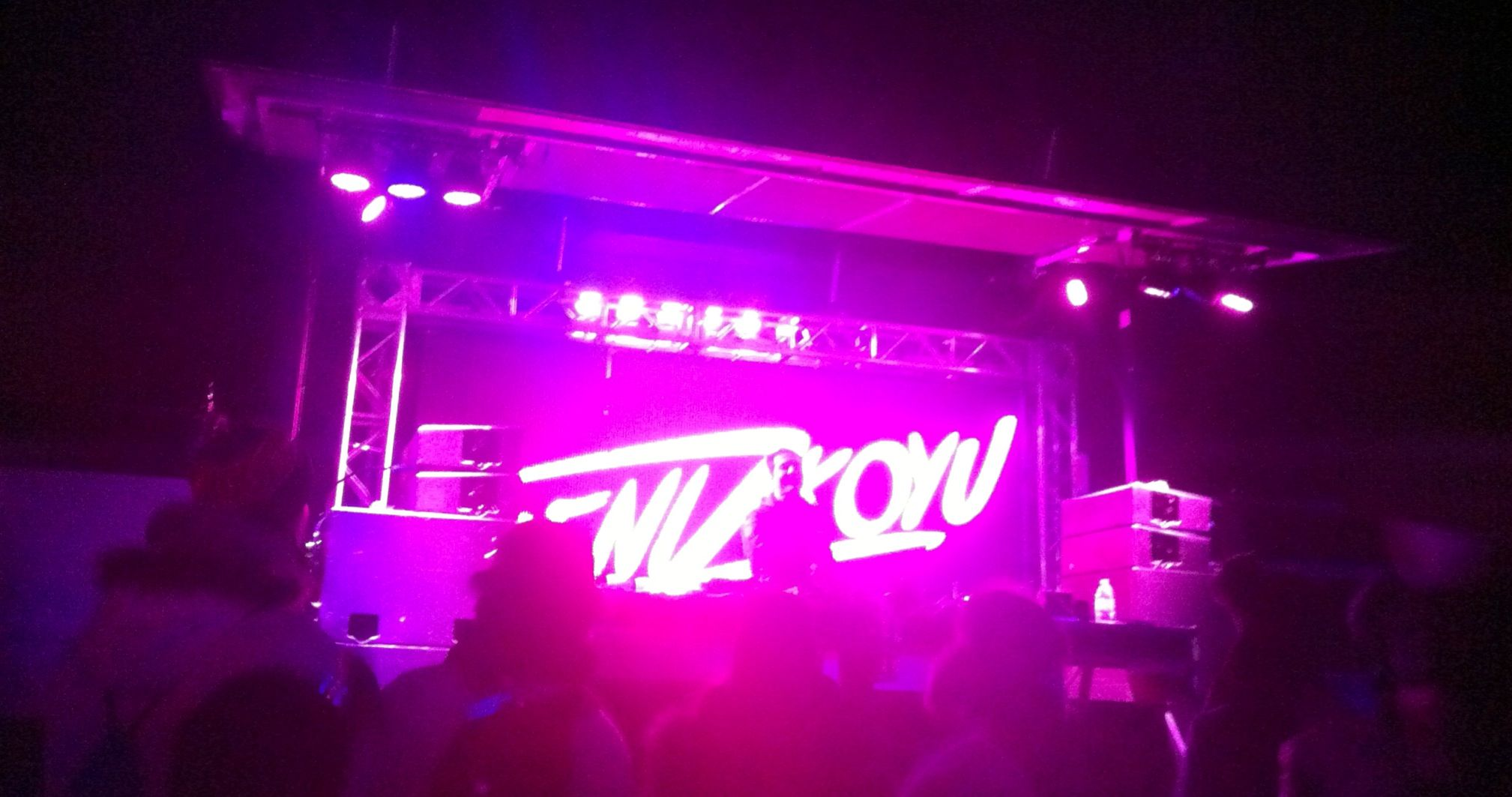 Deniz Koyu lights up the Red Bull Tour Bus! Winter music