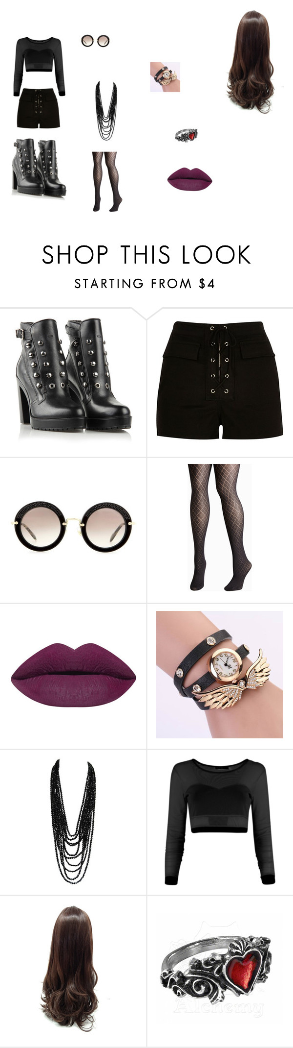 """stylist 3"" by kassy-almeida on Polyvore featuring beleza, Diesel, River Island, Miu Miu e Avenue"