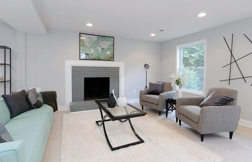 Accent Wall Colors Design Guide Accent Wall Colors Brick Living Room Contemporary Living Room