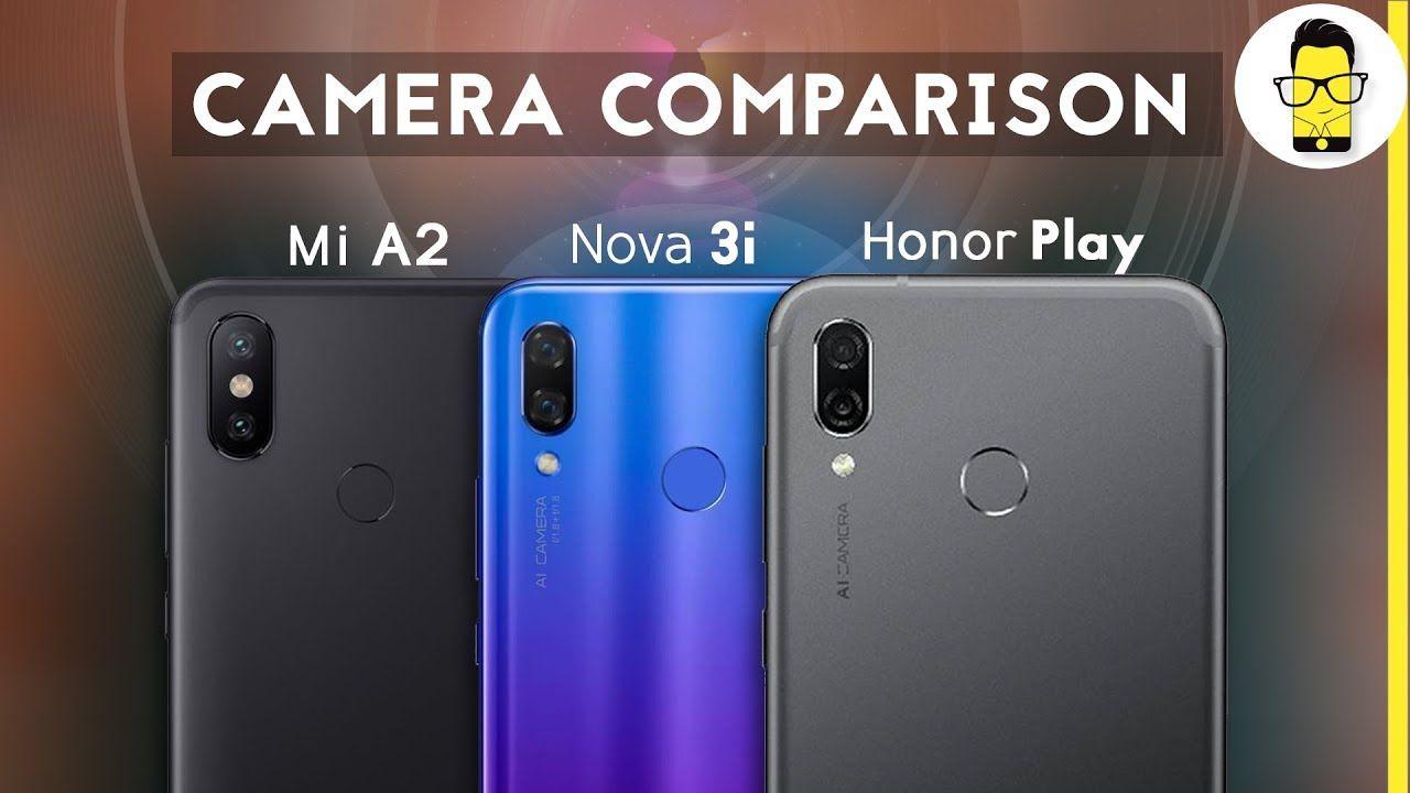 Mi A2 vs Honor Play vs Huawei Nova 3i camera comparison: AI