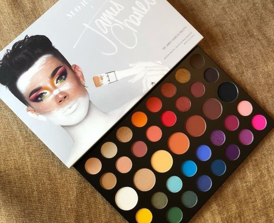 Brand New James Charles Nude Shimmer Eyeshadow Palette 39