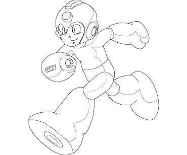 colouring pages mega man coloring sheet google search