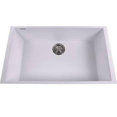 white kitchen sink undermount - Google Search