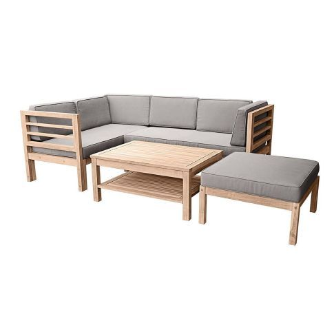 "gartenmobel set lounge holz, gartenmöbel set ""variabel"", aus holz, inkl. auflagen, holz, Design ideen"