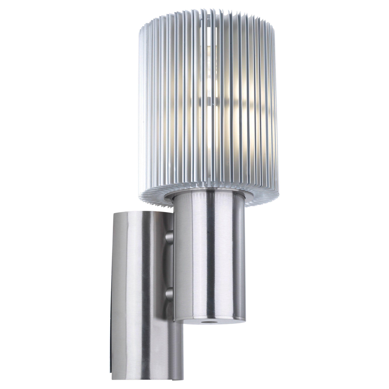 Usa maronello x outdoor wall light with aluminum finish x