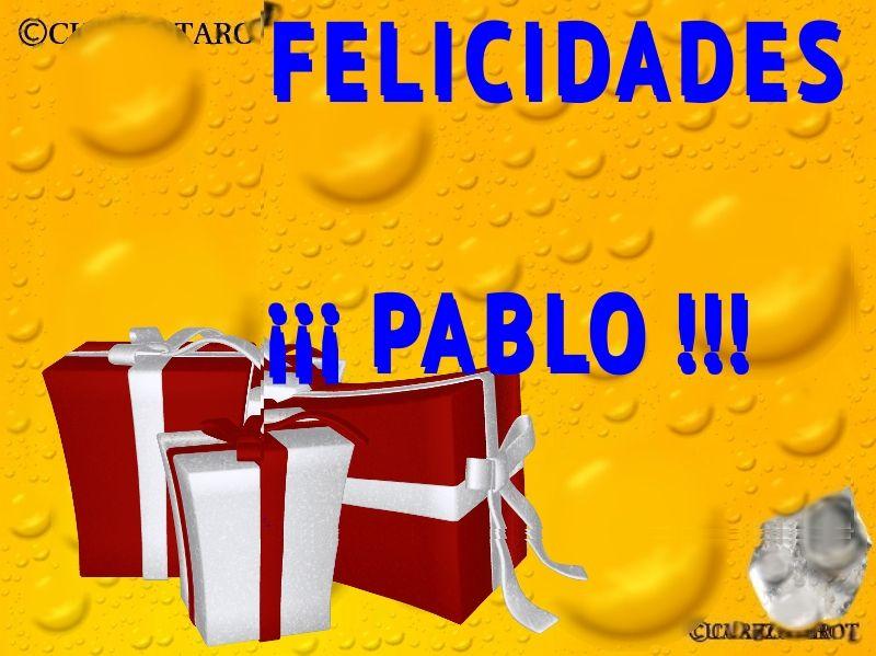 FELICIDADES PABLO https://www.cuarzotarot.es/ #FelizLunes #Pedro #Pablo