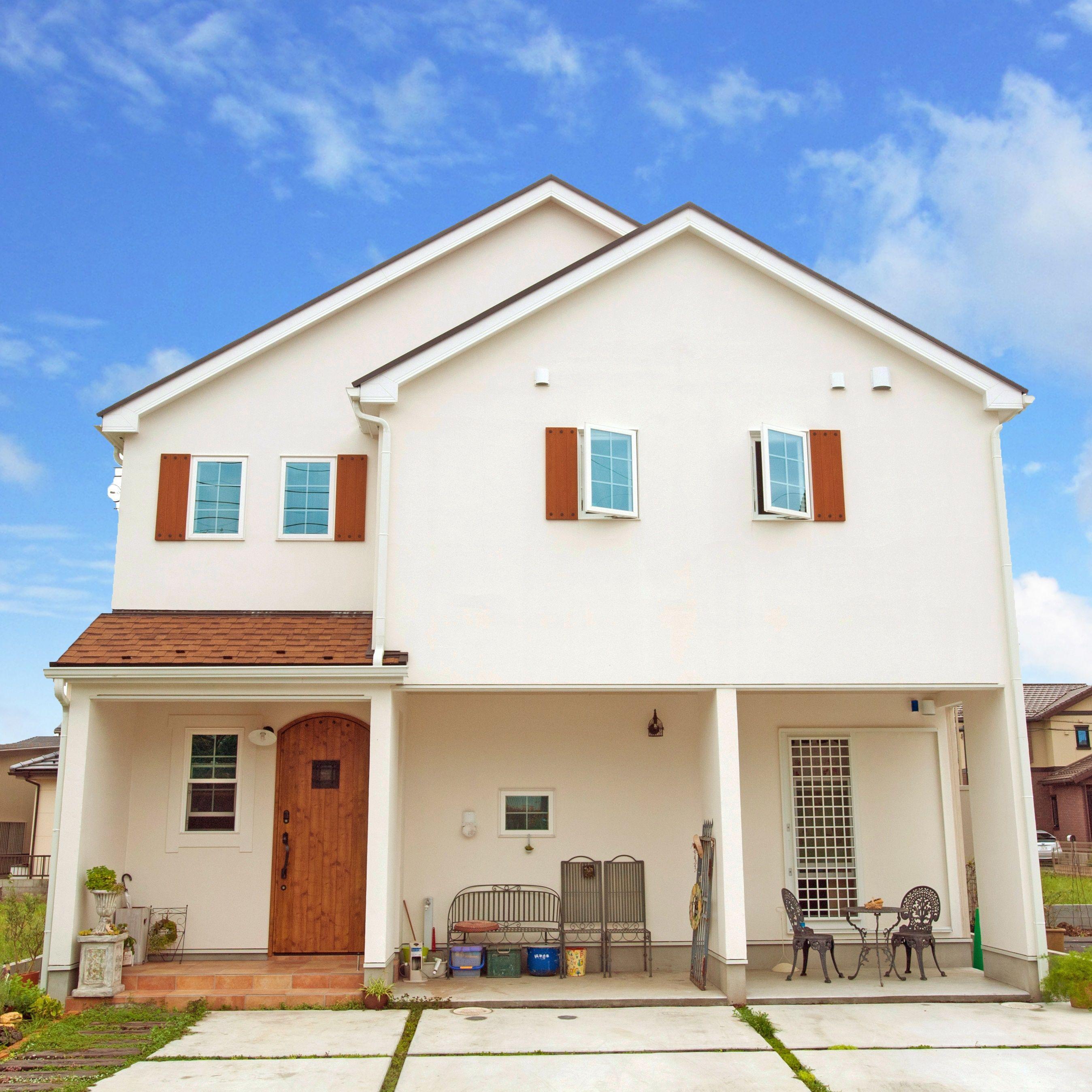 外観 株式会社コグマホーム ホームウェア 住宅 外観 かわいい家