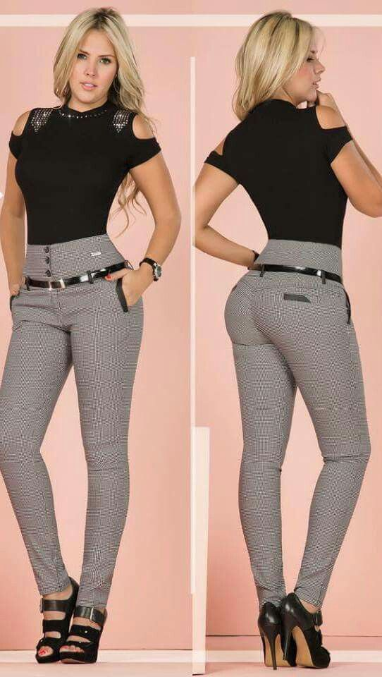 Pin De Maria Toro En Ropa Informal Pantalones De Vestir Mujer Ropa De Moda Pantalones De Moda Mujer