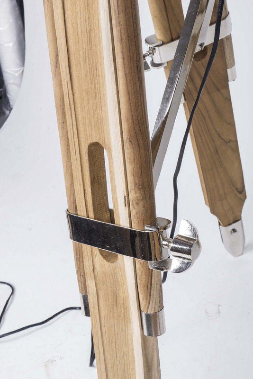 Faszinierend Dreibein Stehlampe Referenz Von Stehleuchte Höhenverstellbar Im Stil, Mit Einem Lampenschirm,