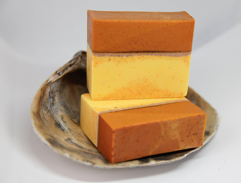 Natural carrot turmeric cinnamon soap etsy in 2020