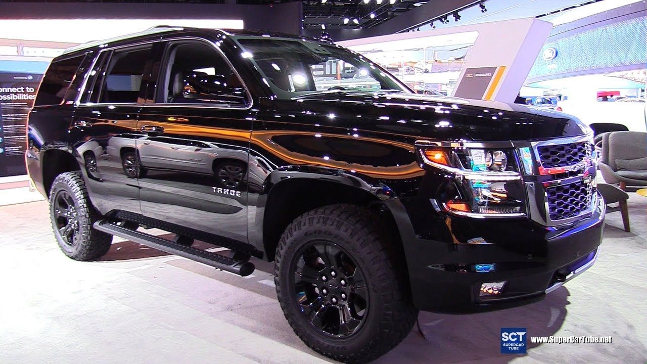 2017 chevrolet tahoe z71 exterior and interior walkaround 2017