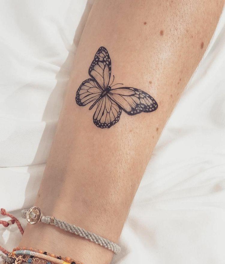 Tatuajes Pequenos Femeninos Originales Significado Tatuarse Mariposa Mariposas Para Tatuar Tatuajes Delicados Femeninos Tatuajes Elegantes