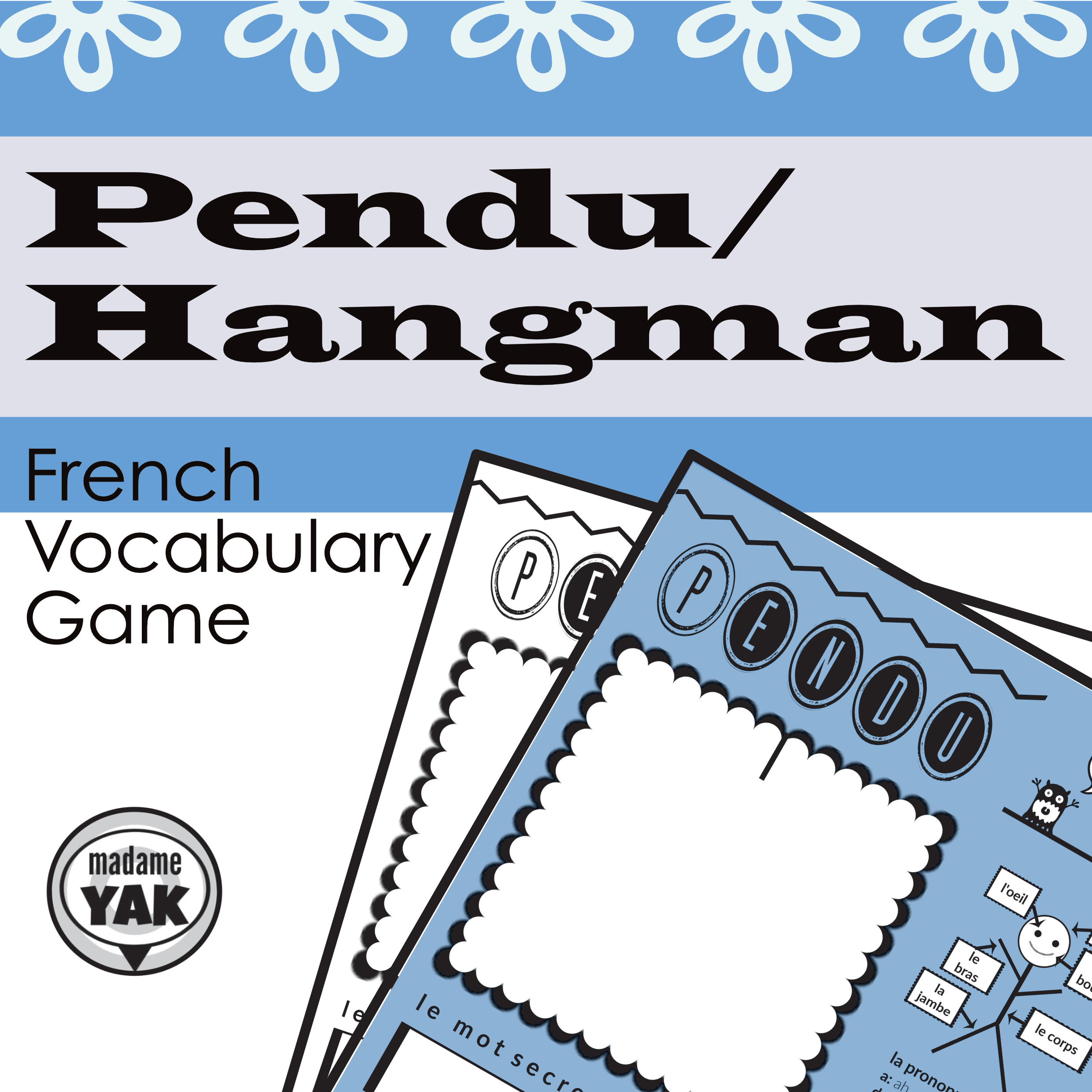 Pendu French Hangman Is A Class Pleasing Vocabulary