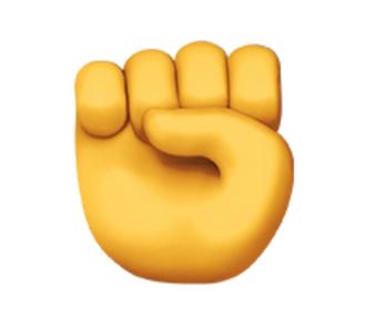 The Raised Fist Emoji Is Social Media S Resistance Symbol The Huffington Post Raised Fist Emoji Emoji Backgrounds