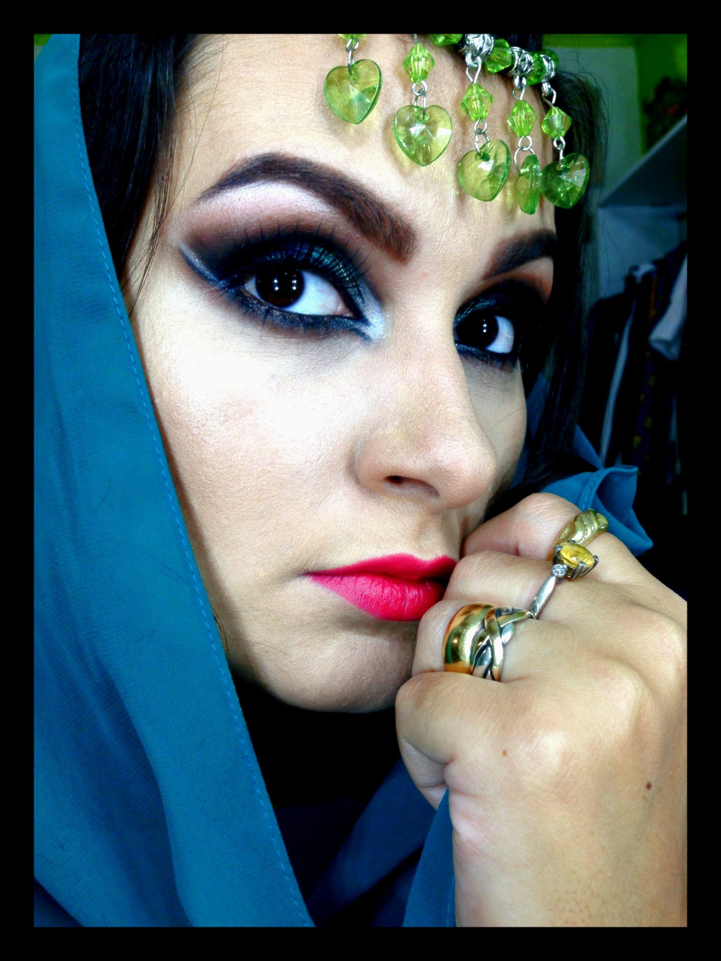 Maquiagem indiana - Indian MakeUp