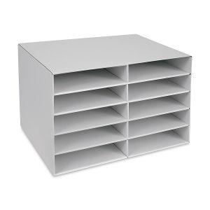 Pacon Construction Paper Storage Unit Blick Art Materials In 2020 Construction Paper Storage Paper Storage Storage