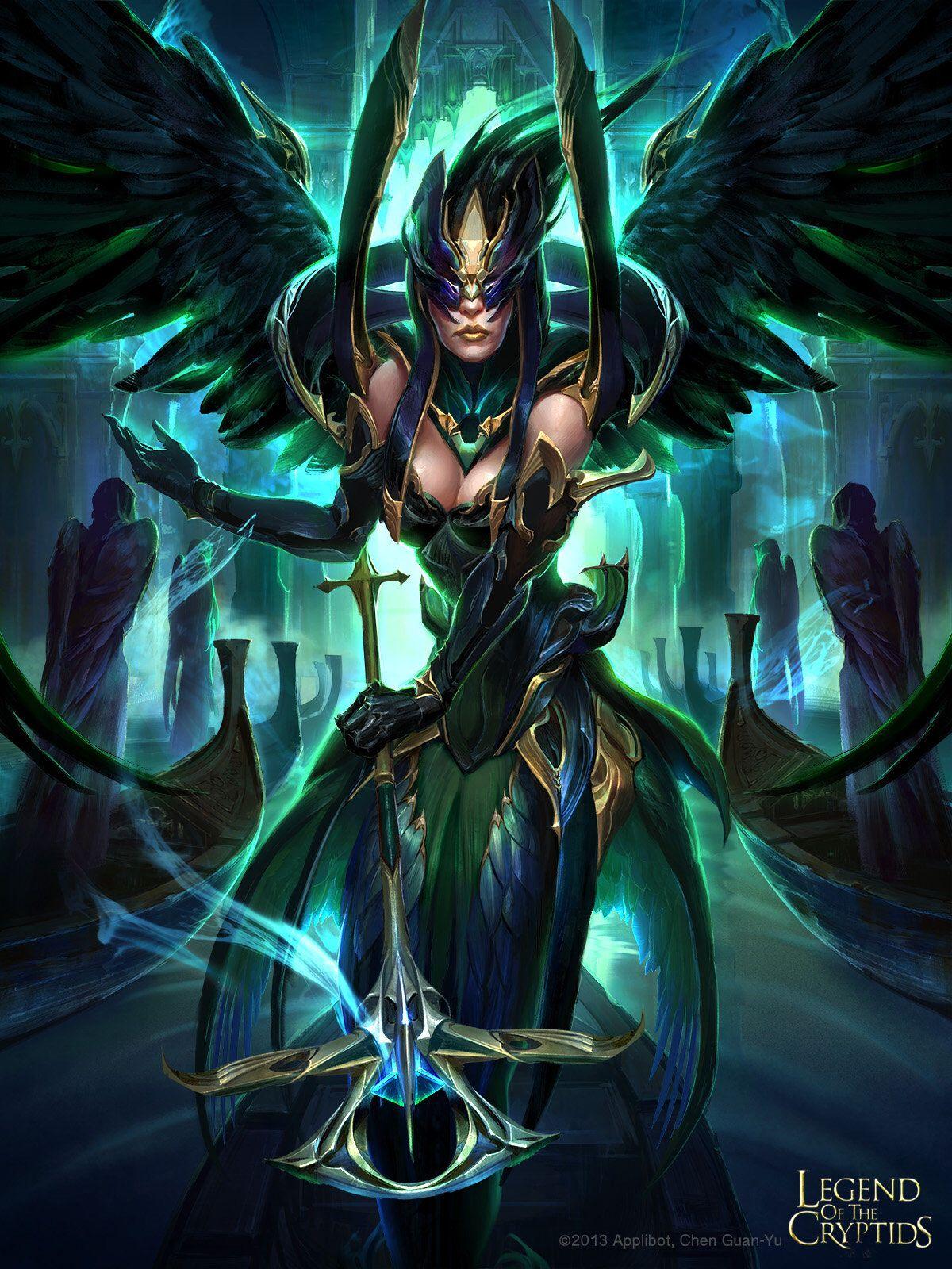 Guan Yu chen Angel of death, Fantasy, Fantasy girl