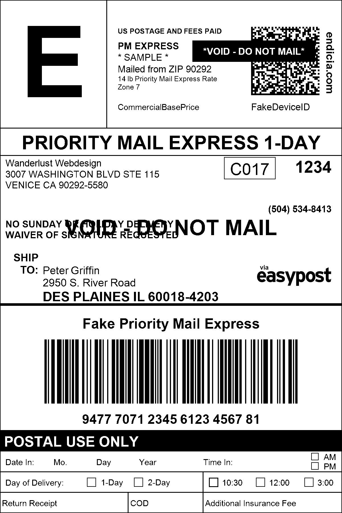 28 Return Shipping Label Template in 2020 Label template
