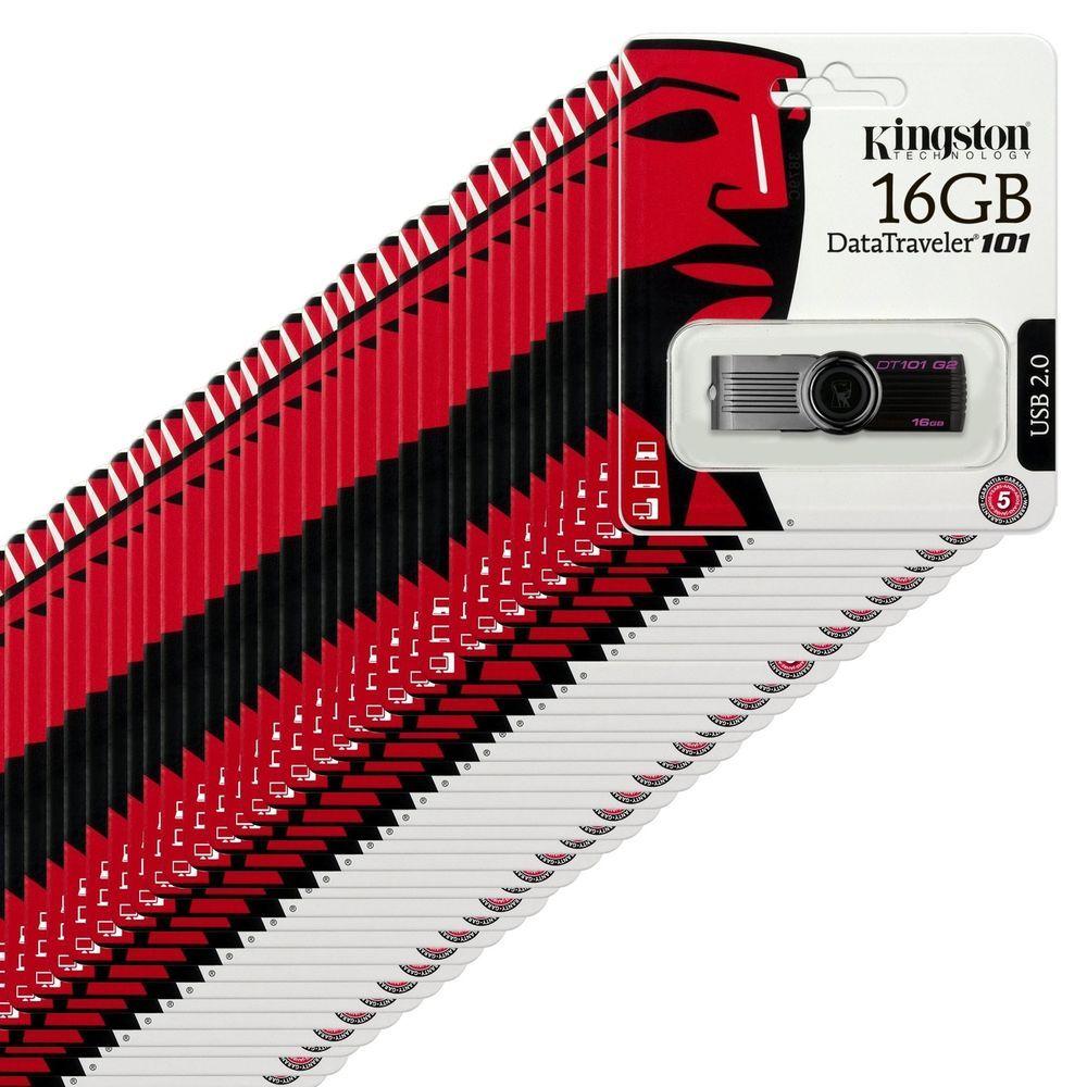 Lot Of 100 Kingston 16gb 16 Gb Usb 20 Data Traveler 101 G2 Black Sandisk Flashdisk Cruzer Blade Cz52 Flash Drive