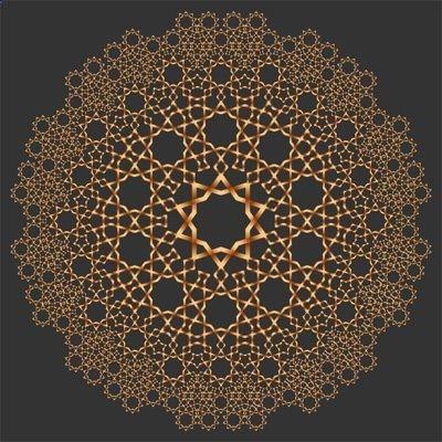 Islamic Art イスラムアート 文様 デザイン