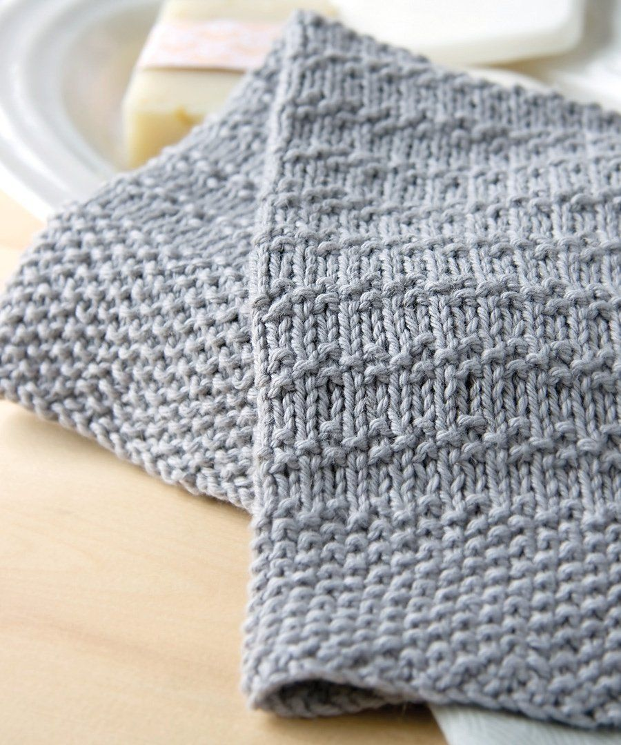 This Towel Knitting Pattern Could Easily Be Adapted Into A Scarf Or