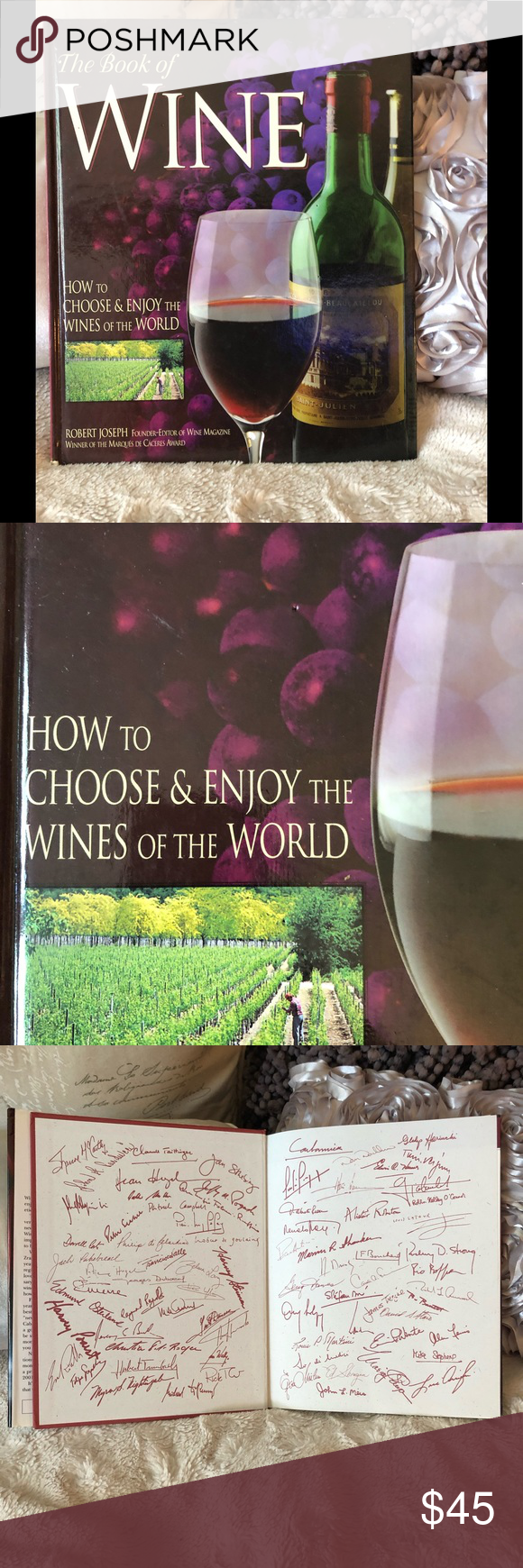 Coffee Table And Educational Wine Book With Images