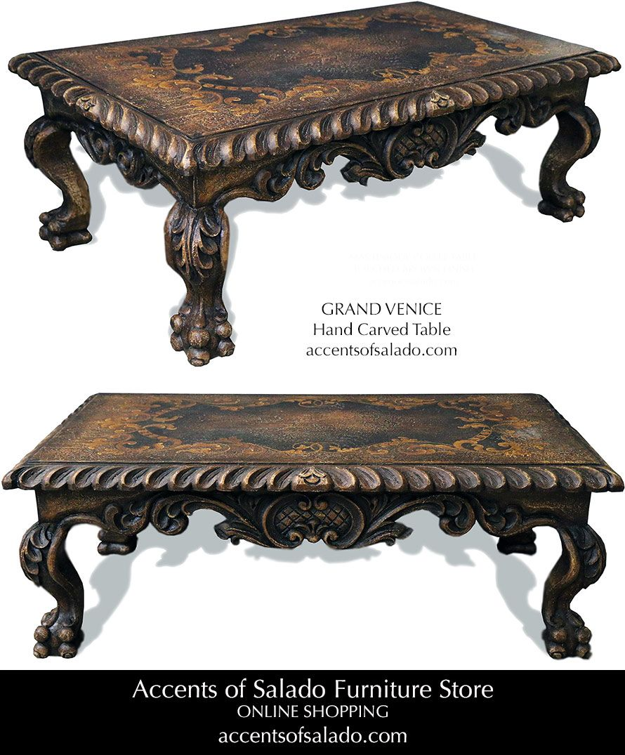 Old World Hand Painted Coffee And Round Accent Tables Tuscan Furniture Tuscan Decorating Furniture [ 1075 x 890 Pixel ]