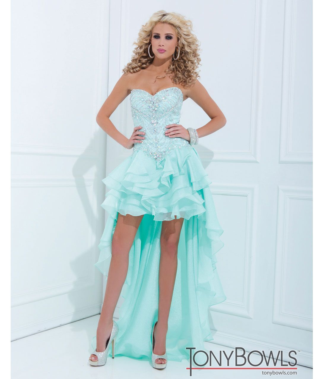High Low Organza Prom Dress_Prom Dresses_dressesss
