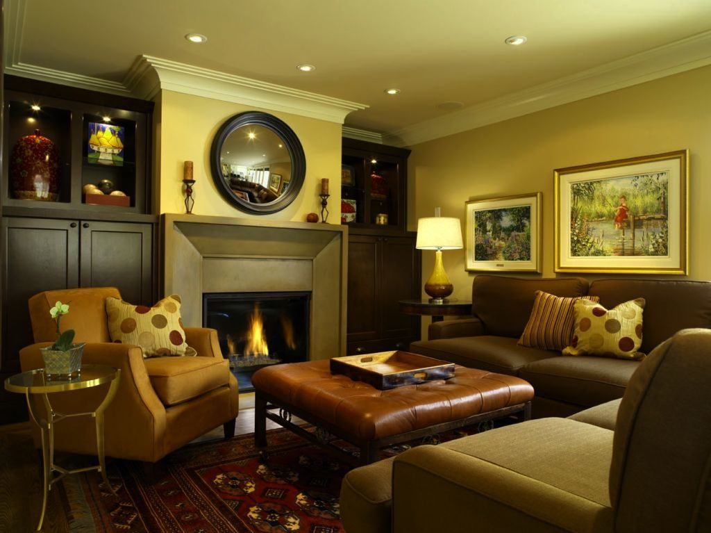 Comfortable Family Room Wall Decor Ideas - Wall Art Design ...