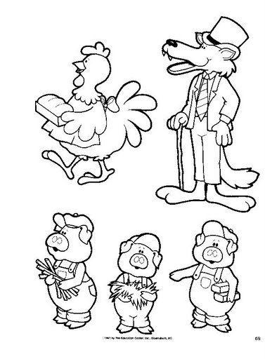 Personajes Cuentos Cerditos Dibujos Aprender A Dibujar Animales