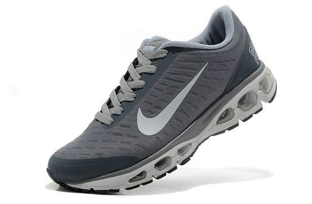 Nike Air Max Tailwind +5 Mens Black Silver Running Shoes