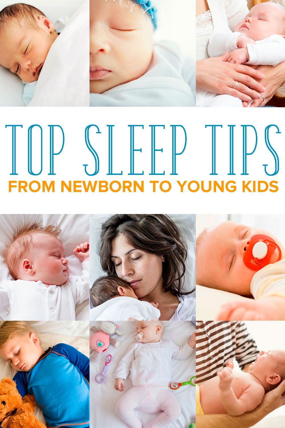 How To Get Sleep With A Newborn And Toddler