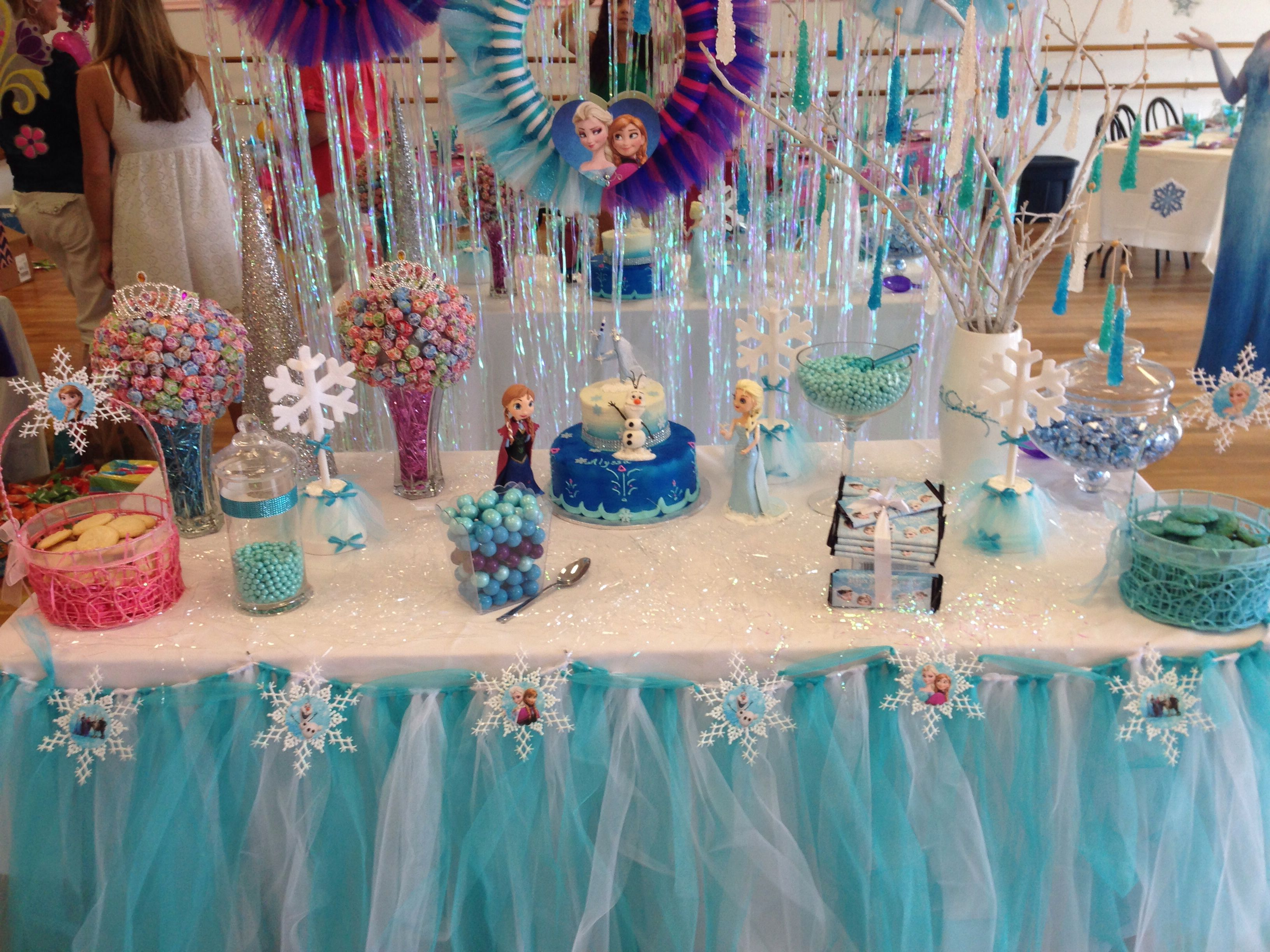 Birthday Party Ideas Cake Table