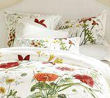 Bloomsfield Floral Organic Duvet Cover    hmmm