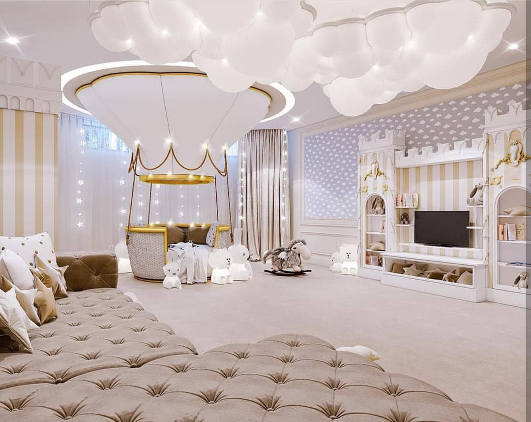 Baby bedroom interior design