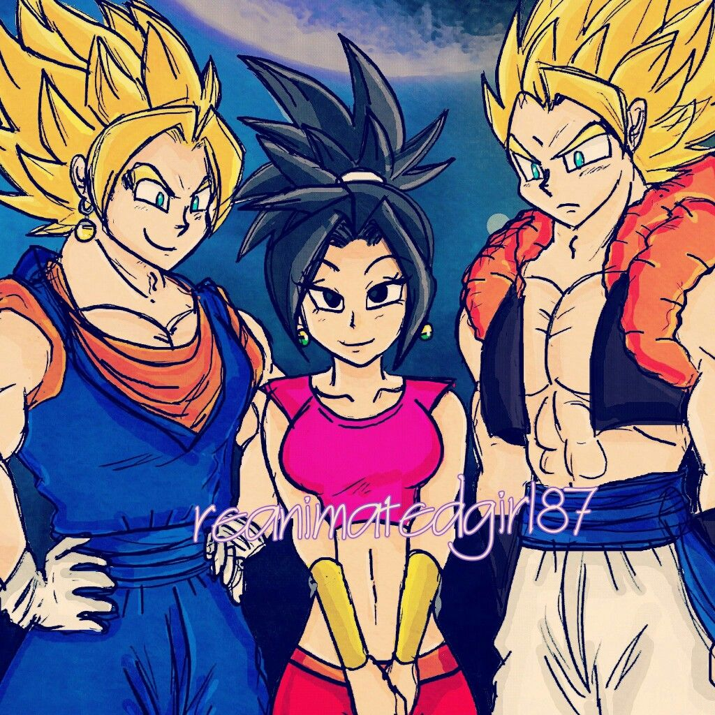 Vegito and Gogeta meet the newest fusion | fans | Dragon