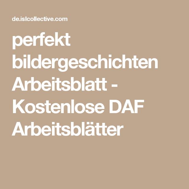 perfekt bildergeschichten | Bildergeschichten, Arbeitsblätter und ...